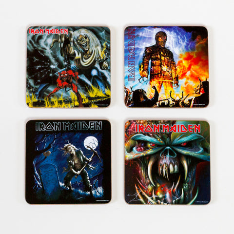 Iron Maiden Coasters