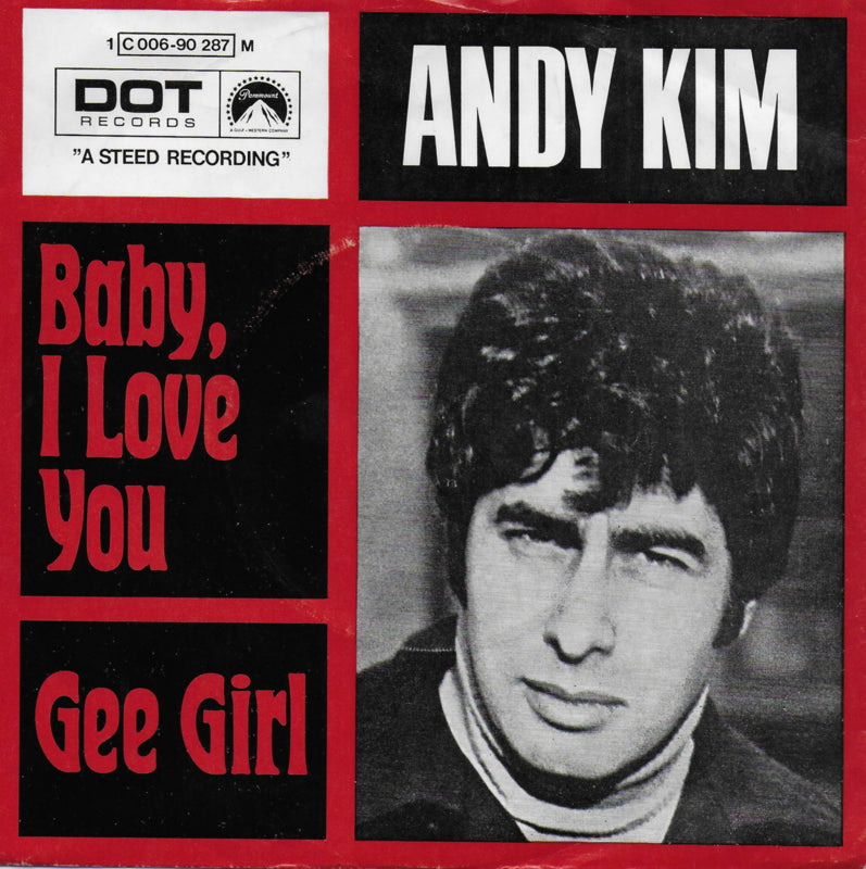 Andy Kim - Baby, I love you (Duitse uitgave)