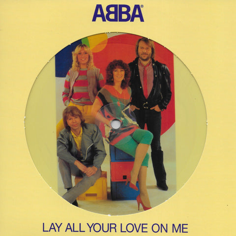 Abba - Lay all your love on me (Limited edition, Picture disc)