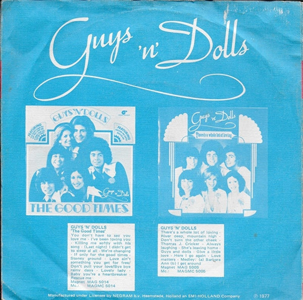 Guys 'n' Dolls - You don't have to say you love me