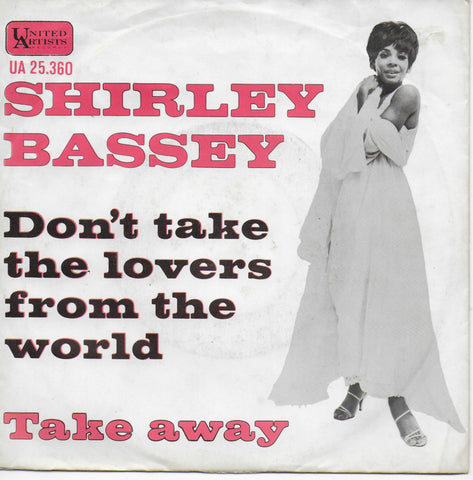 Shirley Bassey - Don't take the lovers from the world