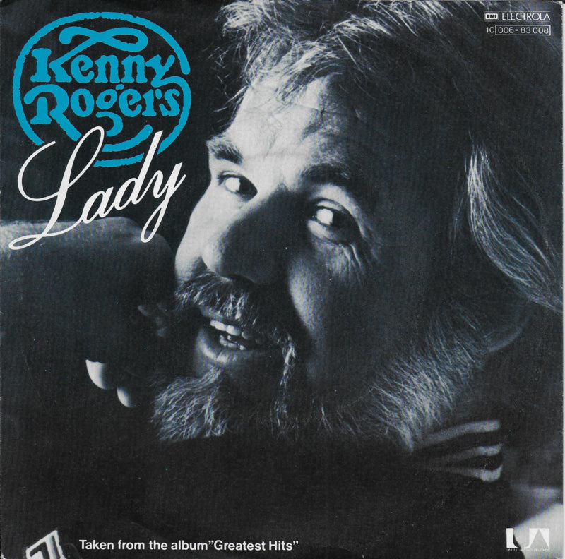 Kenny Rogers - Lady (Alternative cover)