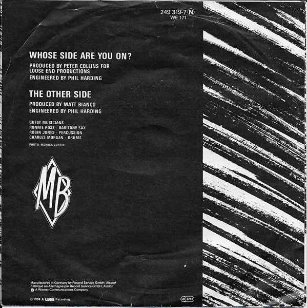 Matt Bianco - Whose side are you on