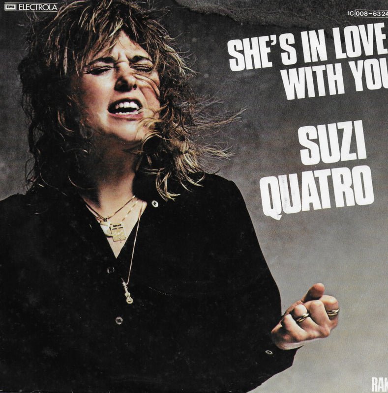 Suzi Quatro - She's in love with you (Duitse uitgave)