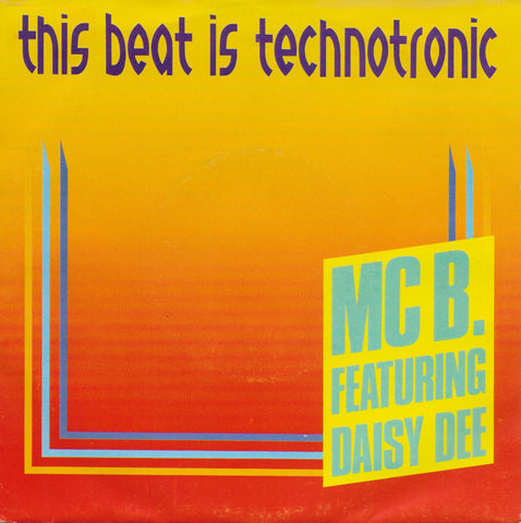 MC B. feat. Daisy Dee - This beat is technotronic