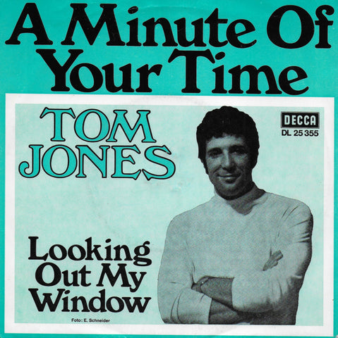 Tom Jones - A minute of your time (Duitse uitgave)