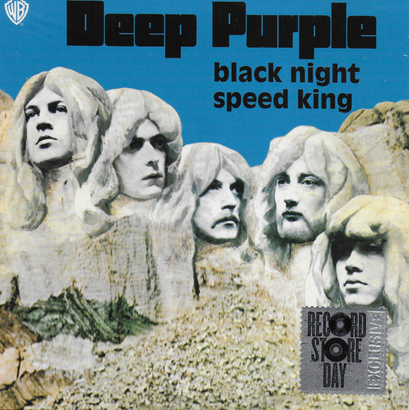 Deep Purple - Black night / Speed king (Limited RSD edition, blauw vinyl)