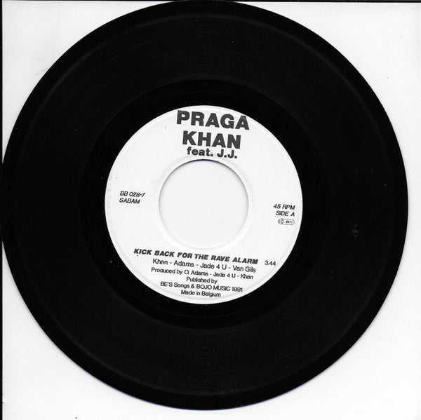 Praga Khan feat. J.J. - Kick back for the rave alarm