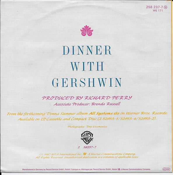Donna Summer - Dinner with Gershwin