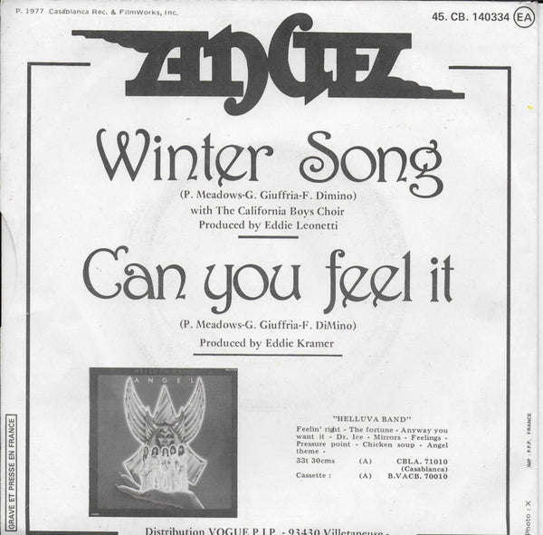 Angel - Winter song