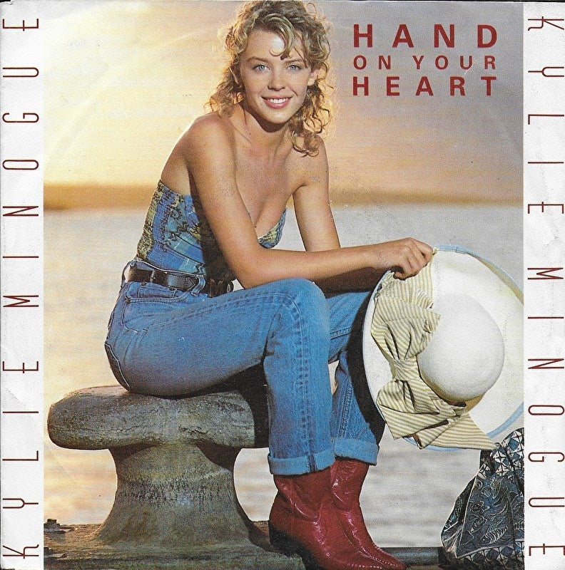 Kylie Minogue - Hand on your heart