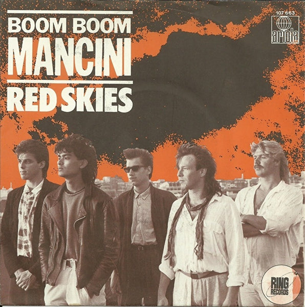 Boom Boom Mancini - Red skies