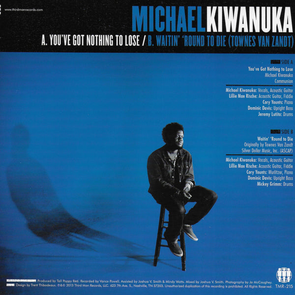 Michael Kiwanuka - You've got nothing to lose (Amerikaanse uitgave)