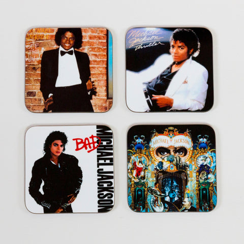Michael Jackson Album Cover Coasters