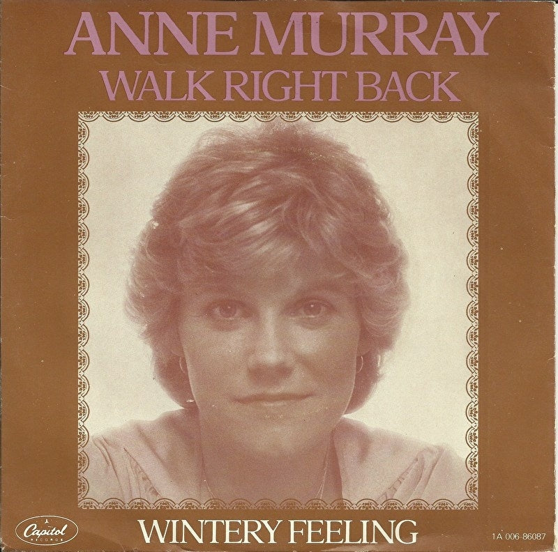 Anne Murray - Walk right back