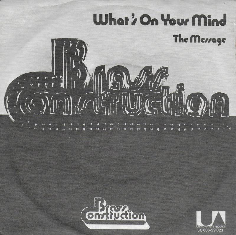 Brass Construction - What's on your mind