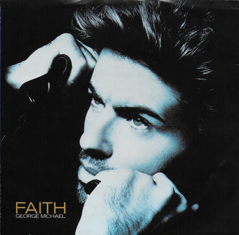 George Michael - Faith (Amerikaanse uitgave)