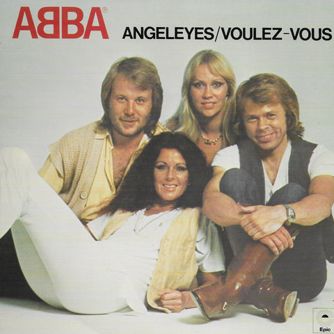 Abba - Angeleyes / Voulez-vous (Engelse uitgave)