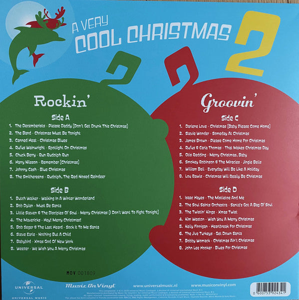 Various - A Very Cool Christmas 2 (Limited Edition, Wit & Groen Vinyl) (2LP)