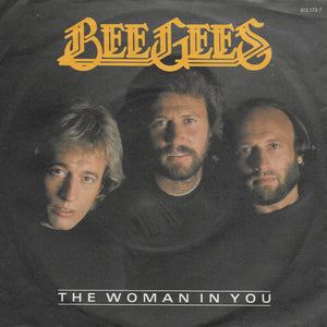 Bee Gees - The woman in you / Stayin' alive (Duitse uitgave)
