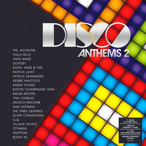 "Disco Anthems 2 - 21 Tracks of Classic Disco/6 Sides Of Extended 12"" Mixes (3LP)"