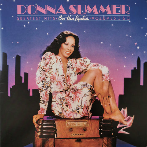 Donna Summer - On The Radio/Greatest Hits Volume I & II (Limited Edition, Roze/Paars Vinyl) (2LP)