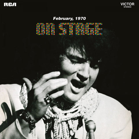 Elvis Presley - On Stage (Limited edition, rood vinyl) (LP)