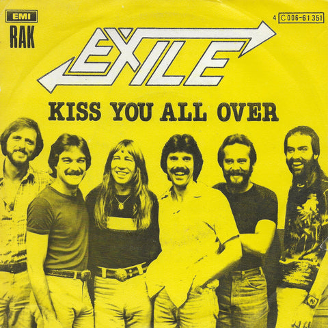 Exile - Kiss you all over (Belgische uitgave)