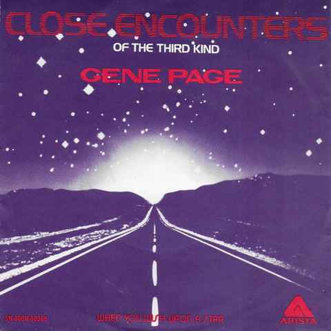 Gene Page - Close encounters of the third kind