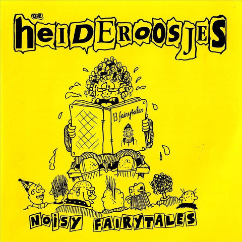 Heideroosjes - Noisy Fairytales (Limited edition, geel vinyl) (LP)