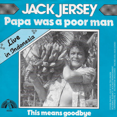 Jack Jersey - Papa was a poor man (live in Indonesia)