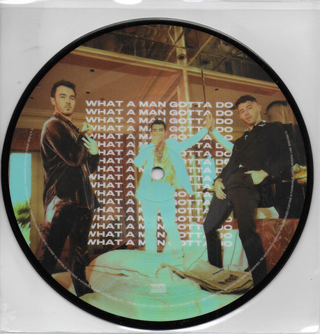 Jonas Brothers - What a man gotta do (Limited edition, picture disc)