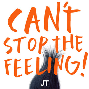 "Justin Timberlake - Can't stop the feeling (Limited edition, orange vinyl) (12"" Maxi Single)"