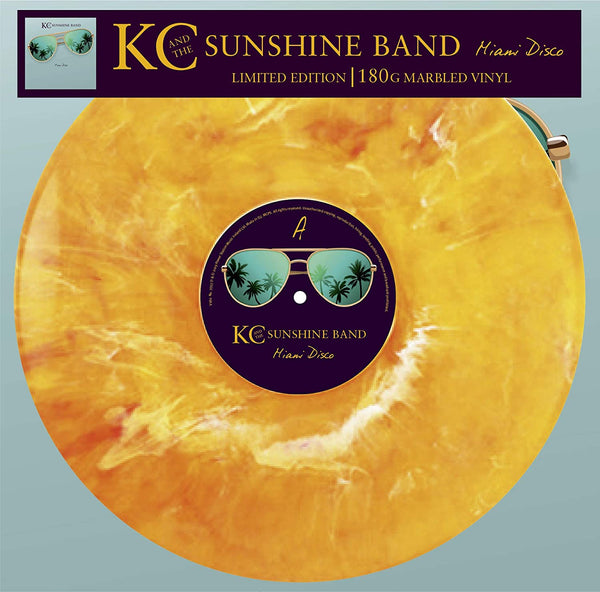 KC And The Sunshine Band - Miami Disco (Limited edition, marbled vinyl) (LP)