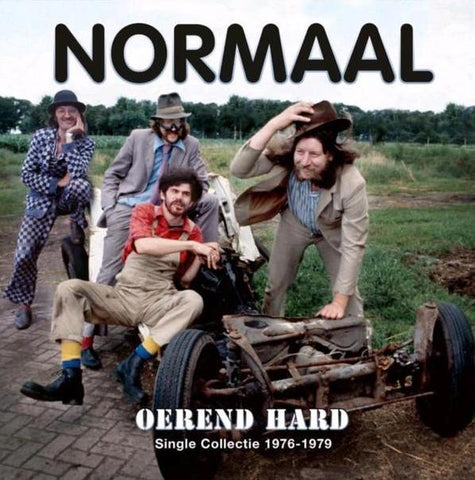 Normaal - Oerend hard (Single Collectie 1977-1979) (Limited Edition, Clear Vinyl) (2LP)