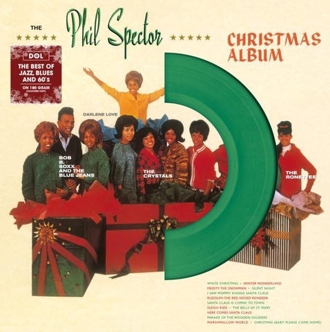 Various - The Phil Spector Christmas Album (Limited Edition, Groen Vinyl) (LP)