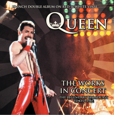 "Queen - The Works In Concert: The Legendary Broadcast, Tokyo 1985 (Limited 10"" Dubbel Vinyl)"