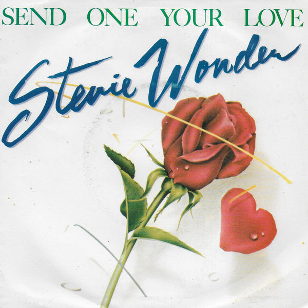 Stevie Wonder - Send one your love (Portugese uitgave)
