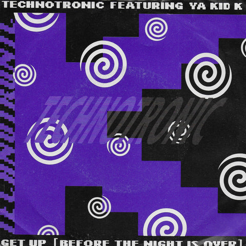 Technotronic feat. Ya Kid K - Get up (before the night is over) (Engelse uitgave)