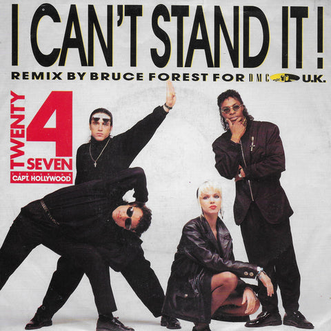 Twenty 4 Seven feat. Captain Hollywood - I can't stand it! (Engelse uitgave)