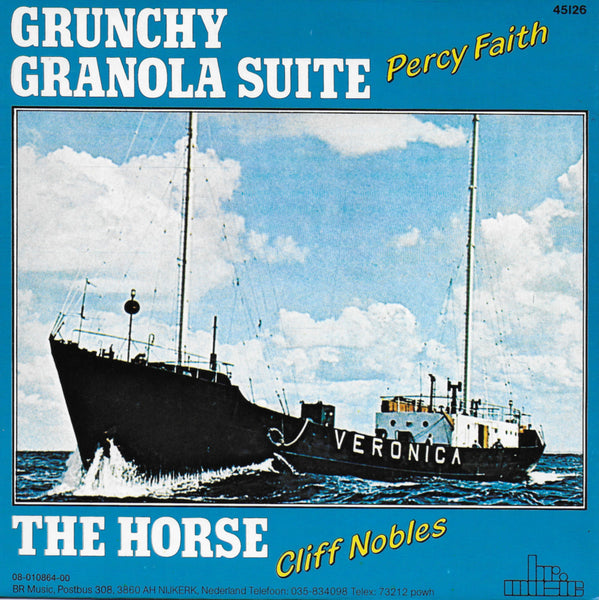 Percy Faith - Grunchy granola suite / Cliff Nobles - The horse