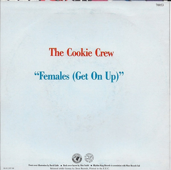 Cookie Crew - Females (get on up)