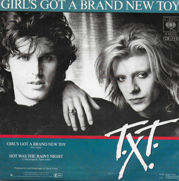 T.X.T. - Girl's got a brand new toy (Duitse uitgave)