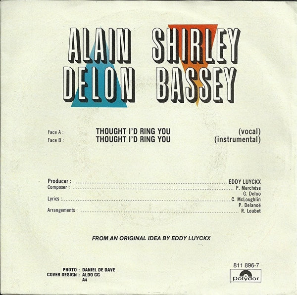 Alain Delon & Shirley Bassey - Thought i'd ring you