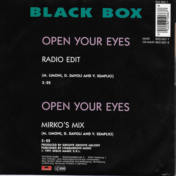 Black Box - Open your eyes