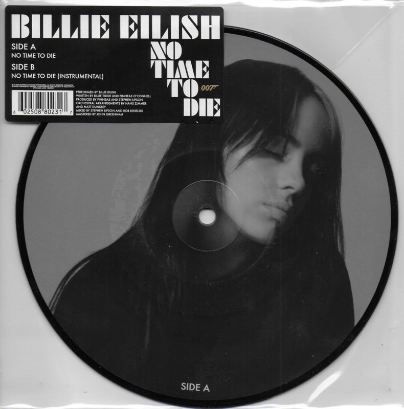 Billie Eilish - No time to die (Limited edition, picture disc)