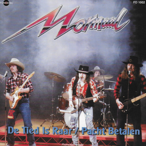 Normaal - De tied is raar / Pacht betalen (Limited edition, Promotion single)