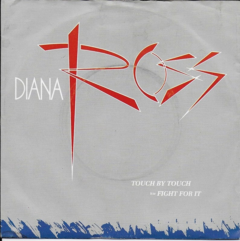 Diana Ross - Touch by touch (Alternative cover)
