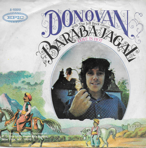 Donovan with The Jeff Beck Group - Barabajagal (love is hot)