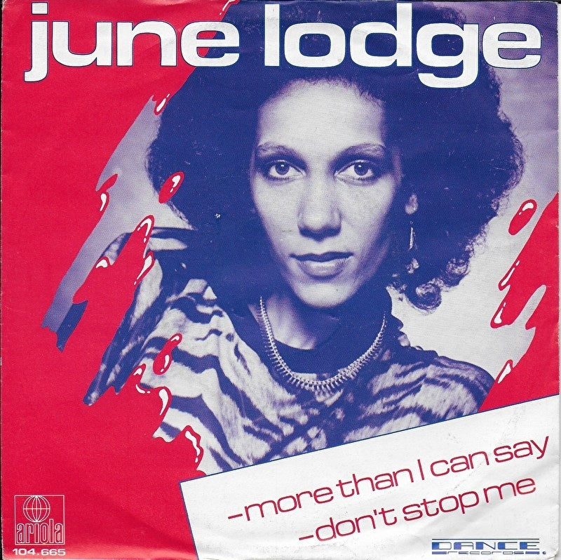June Lodge - More than i can say